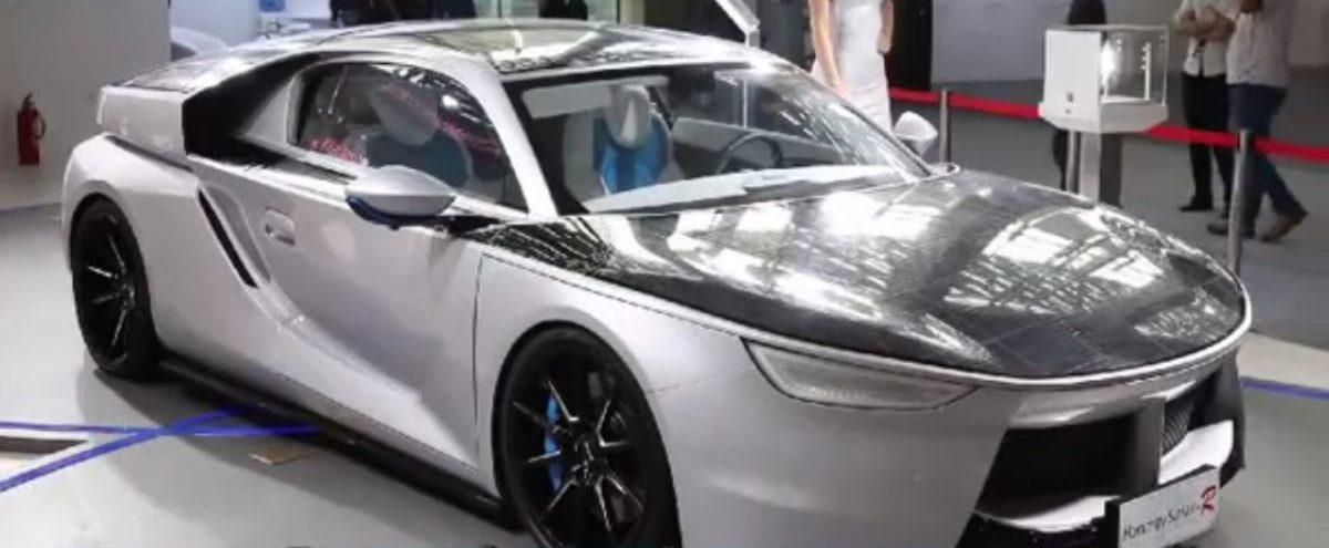 Automobil na solarni pogon Hanergy Solar-R