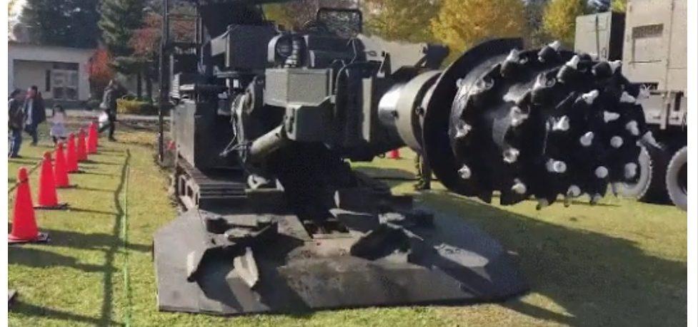 Stroj za kopanje tvrtke Boring Company – GIF