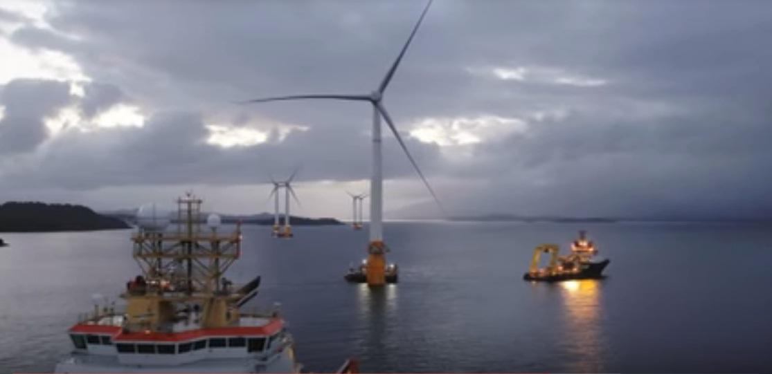 Hywind Scotland, prva plutajuća vjetroelektrana na svijetu, nadmašila je očekivanja