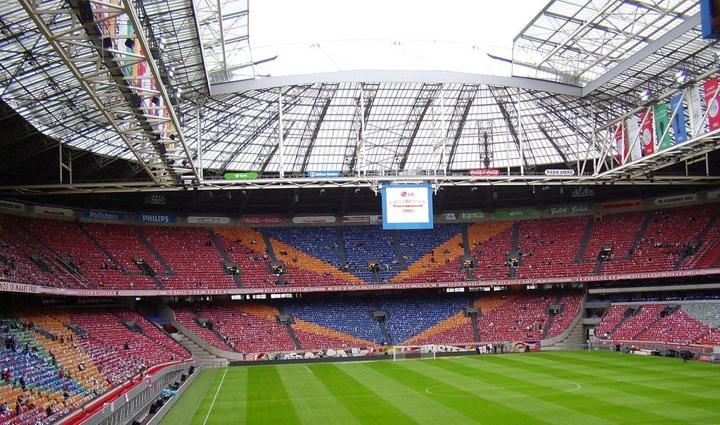 Amsterdamska Arena – video