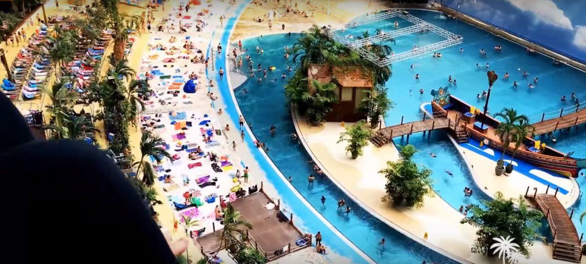 Resort 'Tropski otoci' u hangaru za cepeline u Njemačkoj – video