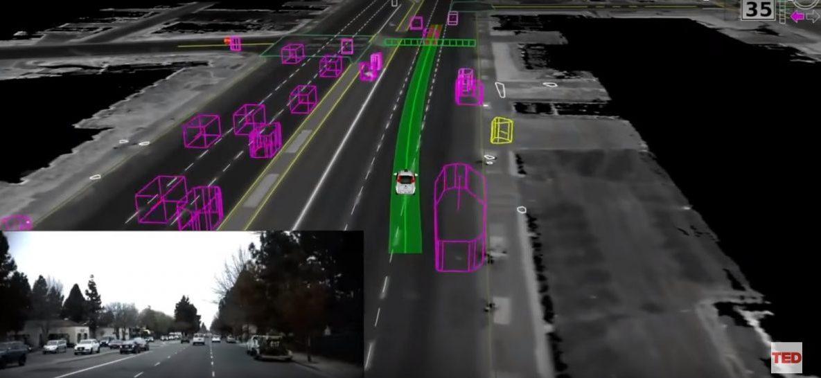 Kako samovozeći automobili vide cestu – TED govor