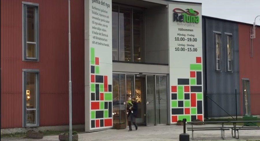 Trgovački centar u Švedskoj prodaje samo rabljene proizvode – video