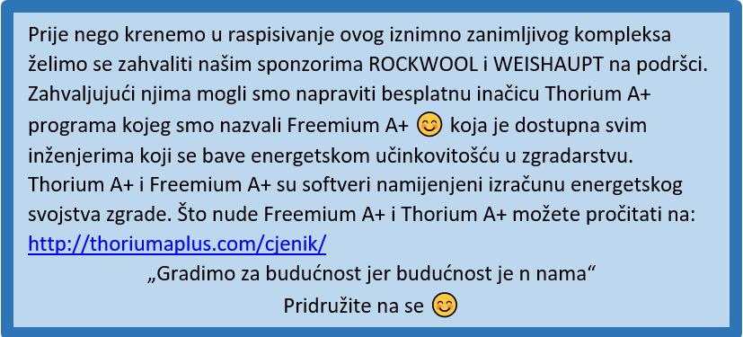 Freemium Aplus-zahvala sponzorima Weishaupt i Rockwool