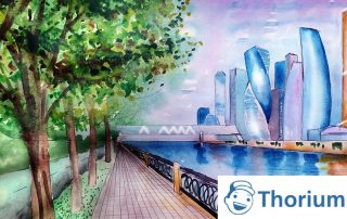 thoriumaplu-apstrakcija-grad-slika