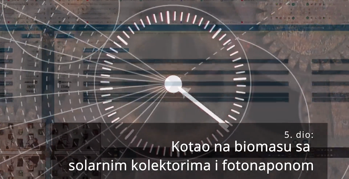 "Modeliranje strojarstva: ""Gone in 60 seconds"" – vol. 5 – kotao na biomasu + solarni kolektori + FN"